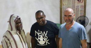Eric Cantona rend visite à Serigne Modou Kara