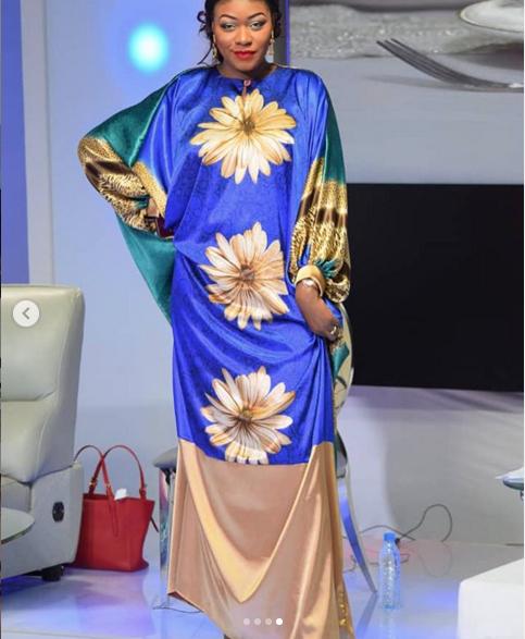 Photos: Khady Ndiaye Bijou éclaire le plateau de QG en mode Korité